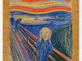 """""""L'urlo"""" di Edvard Munch del 1895"""