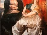 """""""Maria Maddalena penitente con la sorella Marta a lutto"""" di Rubens"""
