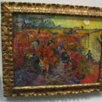 Il vigneto rosso, come è esposto oggi al Museo Pushkin