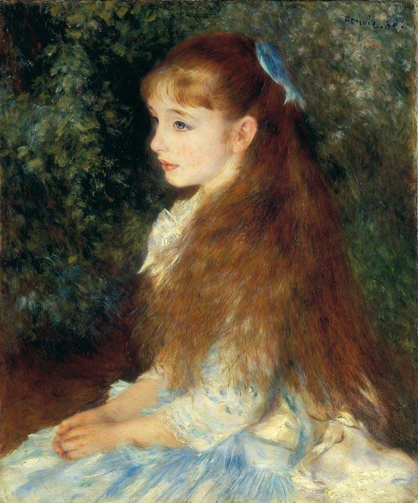 La petite Irène - di Pierre Auguste Renoir - 1880