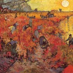 Vincent van Gogh - Il vigneto rosso (Red Vineyards near Arles)