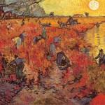 Vincent van Gogh - Il vigneto rosso (Red Vineyards near Arles)