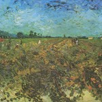 Vincent van Gogh - Il vigneto verde (Settembre 1888)