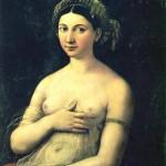 La Fornarina, dipinto di Raffaello raffigurante Margherita