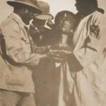 Nefertiti foto del ritrovamento 6. Dicembre 1912