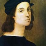 RAFFAELLO Sanzio, (1483-1520) autoritratto.