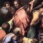 la «Trasfigurazione» particolare