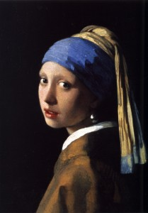 Johannes Vermeer(1632-1675) The Girl With The Pearl Earring (1665)