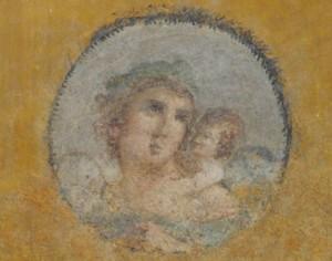 Fresken zurück in Pompeji