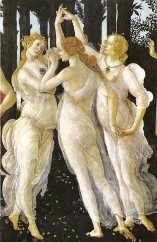 2Sandro_Botticelli_-_Three_Graces_in_Primavera,_1485-1487