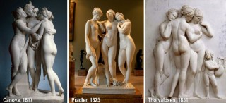 N.SK.-506;0; Canova, Antonio. The Three Graces.